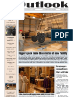Outlook Newspaper  - 2 April 2009 - United States Army Garrison Vicenza - Caserma, Ederle, Italy