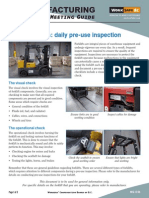 WorkSafeBC- Forklift Inspection Checklist