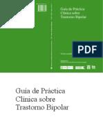 Guía de Práctica Clínica sobre Trastorno Bipolar
