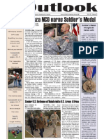 Outlook Newspaper  - 5 February 2009 - United States Army Garrison Vicenza - Caserma, Ederle, Italy