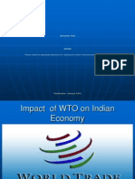 WTO Implications for Indian Economy
