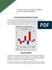 Inversión Nacional Pública y Privada y otros