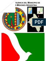 Carta Orgánica del Municipio de Oberá Misiones (versión PDF)