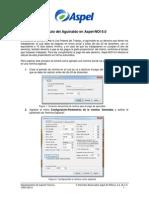 Cálculo del Aguinaldo en Aspel-NOI 6 0