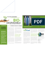Biodegradable Plastic Bottles Case Study