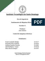 Control de Máquinas Eléctricas - Fundamentos de Máquinas Eléctricas