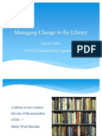 Managing Changes in the Library