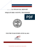 ANNUAL FINANCIAL REPORT  SEQUATCHIE COUNTY, TENNESSEE