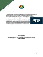 Regulamento de Pesquisa e Exploração de Águas Subterrâneas - Moçambique