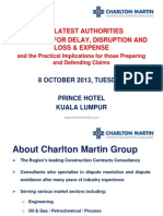 The Latest Authorities on Claims for Delay Disruption and Loss  Expense ....pdf