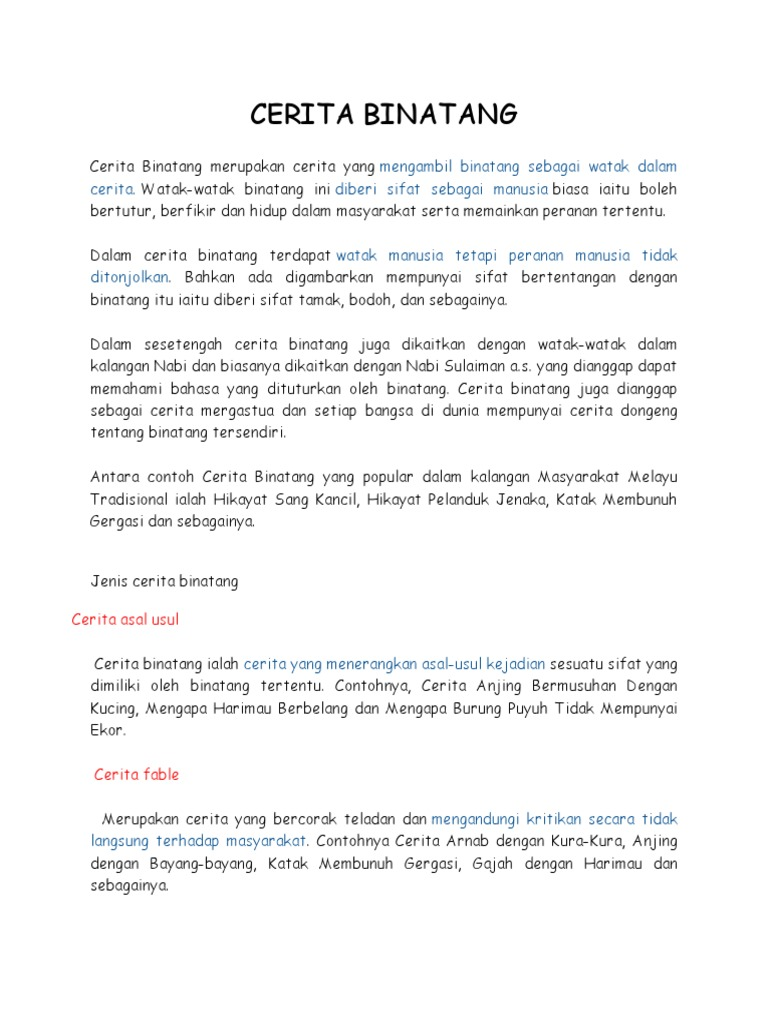 Contoh Cerita Hikayat Dalam Bahasa Melayu Brad Erva Doce Info