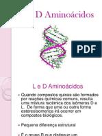 L e D Aminoácidos - Seminário