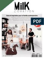 Milk Décoration N 5 Septembre-Octobre-Novembre 2013 PDF