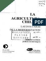 La agricultura Chilena, las dos caras de la modernización