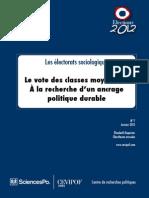 Exposé PDF Sce po Paris - Le vote des classes moyennes.pdf