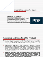 Planning and Preparation for Export.ppt