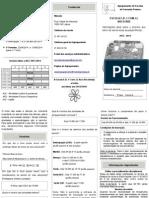 "Folheto 2013-2014 EB1 Arco íris"""