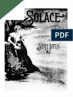 Scott Joplin Solace Piano Sheets