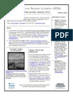 TPS-MTSU; Newsletter August 2013