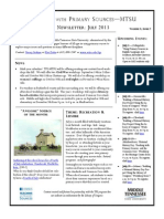 TPS-MTSU; Newsletter July 2013