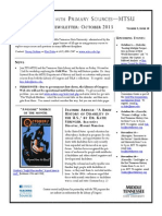 TPS-MTSU; Newsletter October 2013