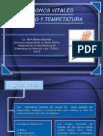 Signos Vitales - Pulso Y Temperatura