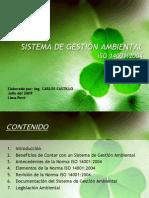 ISO 14001:2004 Nuevo Enfoque