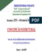 Alv. Estrutural - Concepcao