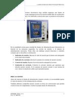 Instrumentos de Medición, características técnicas más importantes
