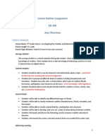 ed 308 course outline assignment