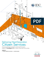 Smart City Citizens Services by IDC & CIsco