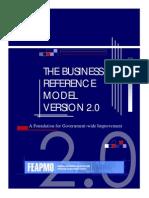 Business Reference Model for US GOV