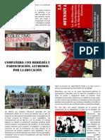 Ofensiva, Participación, organización y exclusión en Historia