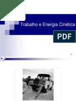 Trabalho Energias Cinetica e Potencial Elastica