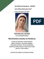 Movimientos Laicales en Honduras - Grupo 2 - Maria Elena, Charly, Marco Tulio, Maria Santos y Maria Suyapa
