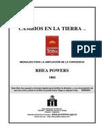 Powers, Rhea - Cambios en La Tierra