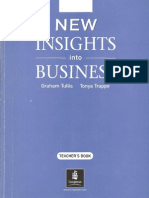 New Insights Into Business Students Book
