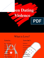 Dating Violence PRESENTATION