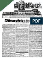 1930 Nr. 9, Bürgerkrieg in Sicht; Ludendorffs Volkswarte, A3 Format