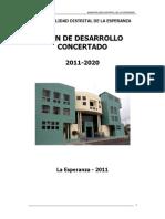 PLAN 11314 PDDC (Plan de Desarrollo Distrital Concertado) 2011-2020 2011