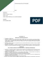 Cronograma Celulas y Tejido de Actividades Lapso 2013-III