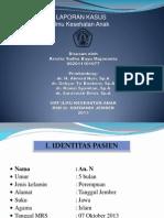 Lapsus Bayu (DCA Non Disentriform)