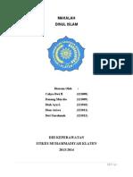makalah Dinul Islam.doc