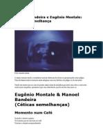Manoel Bandeira e Eugênio Montale