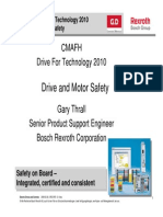 BOSCH Drive and Motor Safety