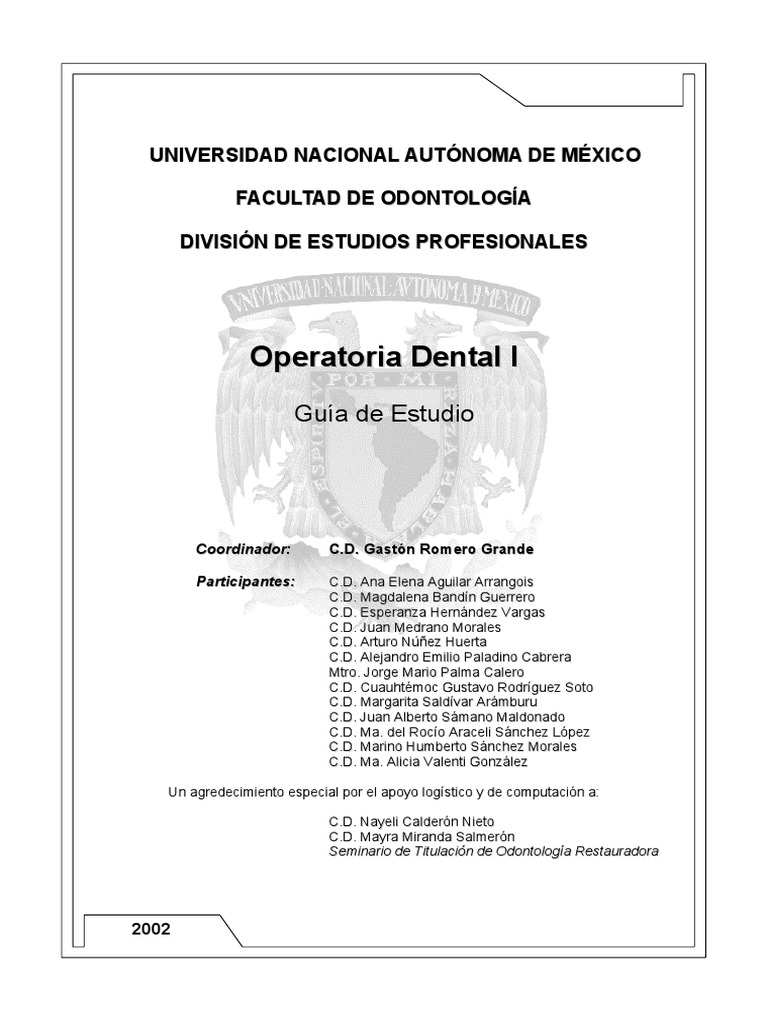 2 Operatoria Dental I