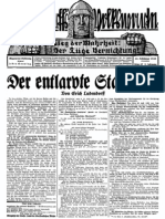 1930 Nr. 47, Der entlarvte Stahlhelm; Ludendorffs Volkswarte, A3 Format