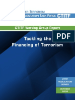 Tackling the Financing of Terrorism (2009) Counter-Terrorism implementation Task Force uploaded by Richard J. Campbell