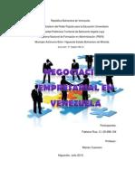 La Negociacion Empresarial en Venezuela