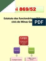 Lei 869-52 (Pontos principais)
